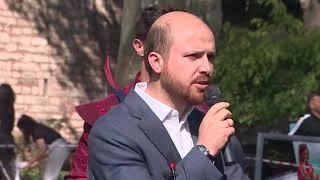 Bilal Erdoğan İngilizce konuşuyor