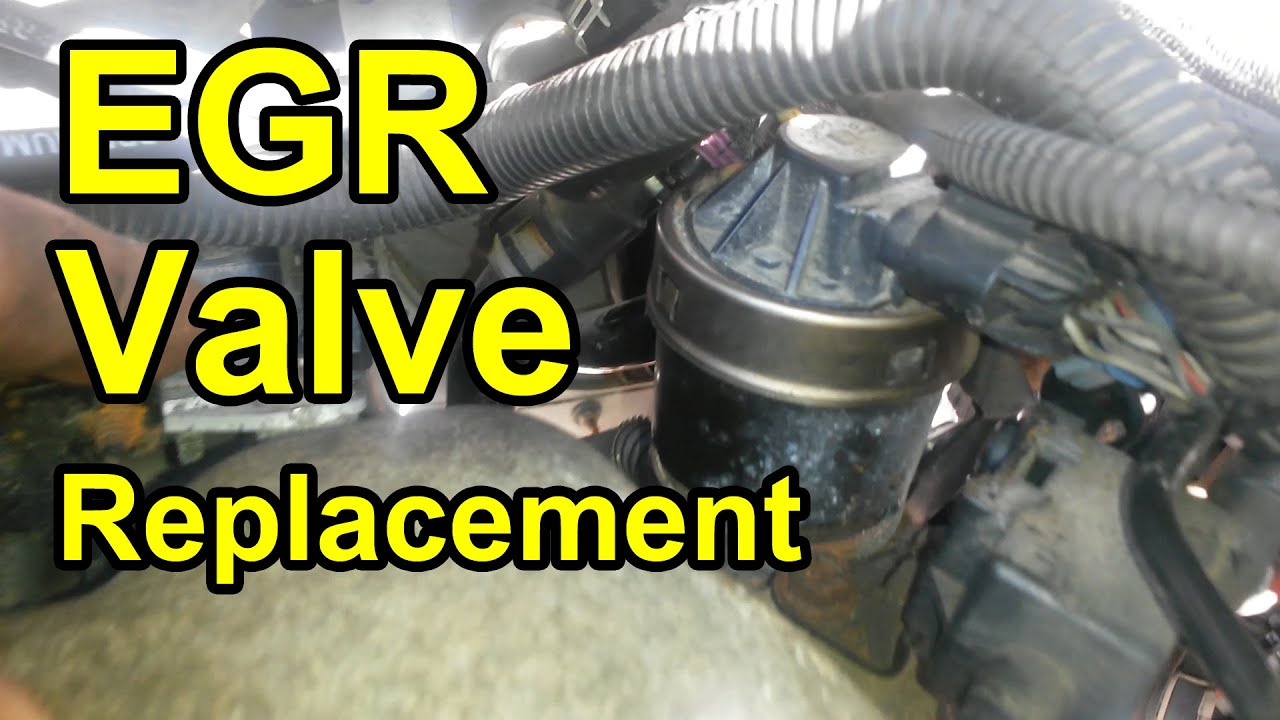 EGR Valve Replacement Chevy Venture 3.4L Engine - YouTube