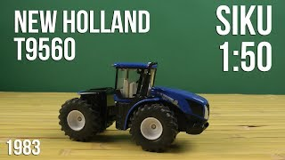 Распаковка Siku 1:50 Трактор New Holland T9.560 1983