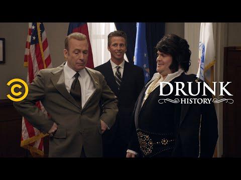 When Elvis Presley Met Richard Nixon (feat. Jack Black & Bob Odenkirk) - Drunk History