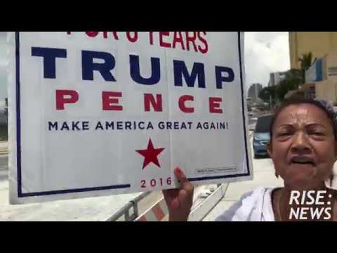 This Little Havana lady REALLY loves Donald Trump