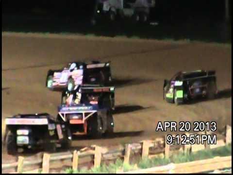 Wes Branner - Eastside Speedway 4/20/13