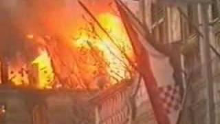 Serbian Attack On Dubrovnik ( Hrvatska - Croatia )
