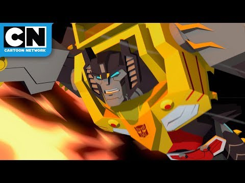 Transformers Cyberverse | Grimlock's Return | Cartoon Network