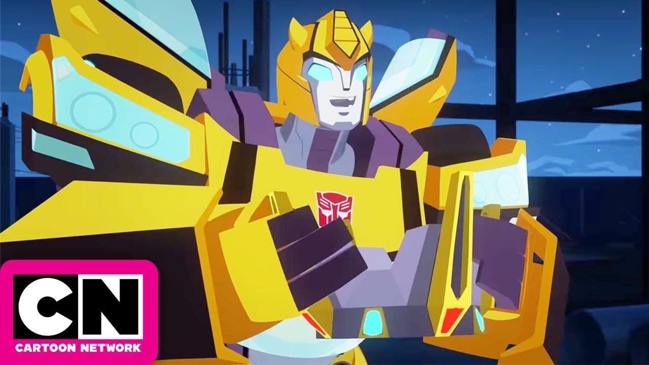 Transformers Cyberverse Grimlock S Return Cartoon Network Youtube