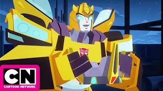 Transformers Cyberverse | Grimlock's Return | Cartoon Network