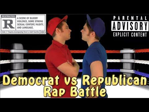 Democrat vs Republican Rap Battle | Hypocrite Twins