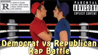 Democrat vs Republican Rap Battle | Hypocrite Twins