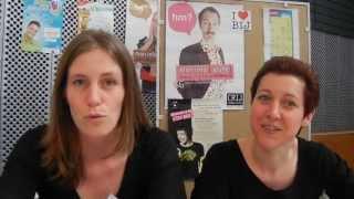 Laure et Muriel du BIJ de la ville de Thonon lors du Forum job d