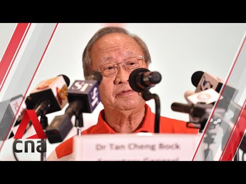 Progress Singapore Party's Tan Cheng Bock on how he thinks the PAP has changed
