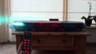 Federal signal Vista LED/Halogen blue/red lightbar