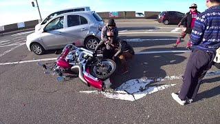 道中で事故に遭遇、緊急時であれば問題ないと思い無知な判断で歩道を走行してしまい反省しております。 『事故車両を動かしてはいけない』とご指摘がありますが渋滞、二 ...