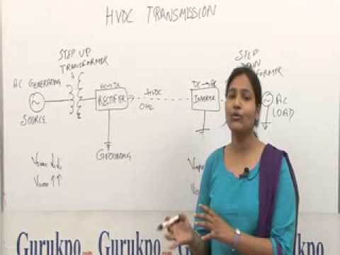 HVDC Transmission Lecture, BTech  by Ms. Apoorva Gupta.