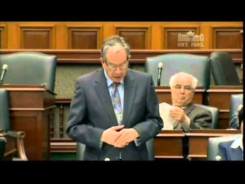 Hon Jeff Leal Re Canadian Agriculture Literacy Week 03 03 15