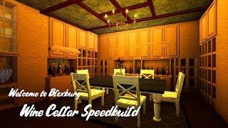 Wine Cellar Speedbuild - Roblox - Welcome to Bloxburg