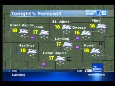 Local Forecast- 2/11/12 8:28 AM EST