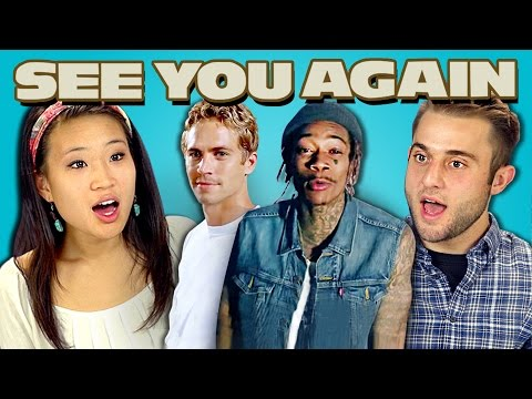 TEENS REACT TO SEE YOU AGAIN