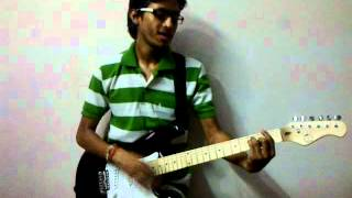 Dooba Dooba rehta hu ankho me teri by AMIT GAUR on guitar.mp4