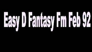 Gambar cover Easy D Mc Rush Fantasy Fm Sheffield Feb 1992 Pirate Radio