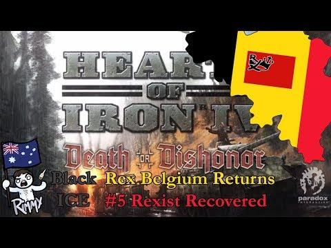HOI4 Black ICE - Rex Belgium Returns #5 - Rexist Recovers [BACK ON LADS]