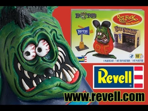 Monster Model Review #153 Rat Fink and Diorama by REVELL Inc