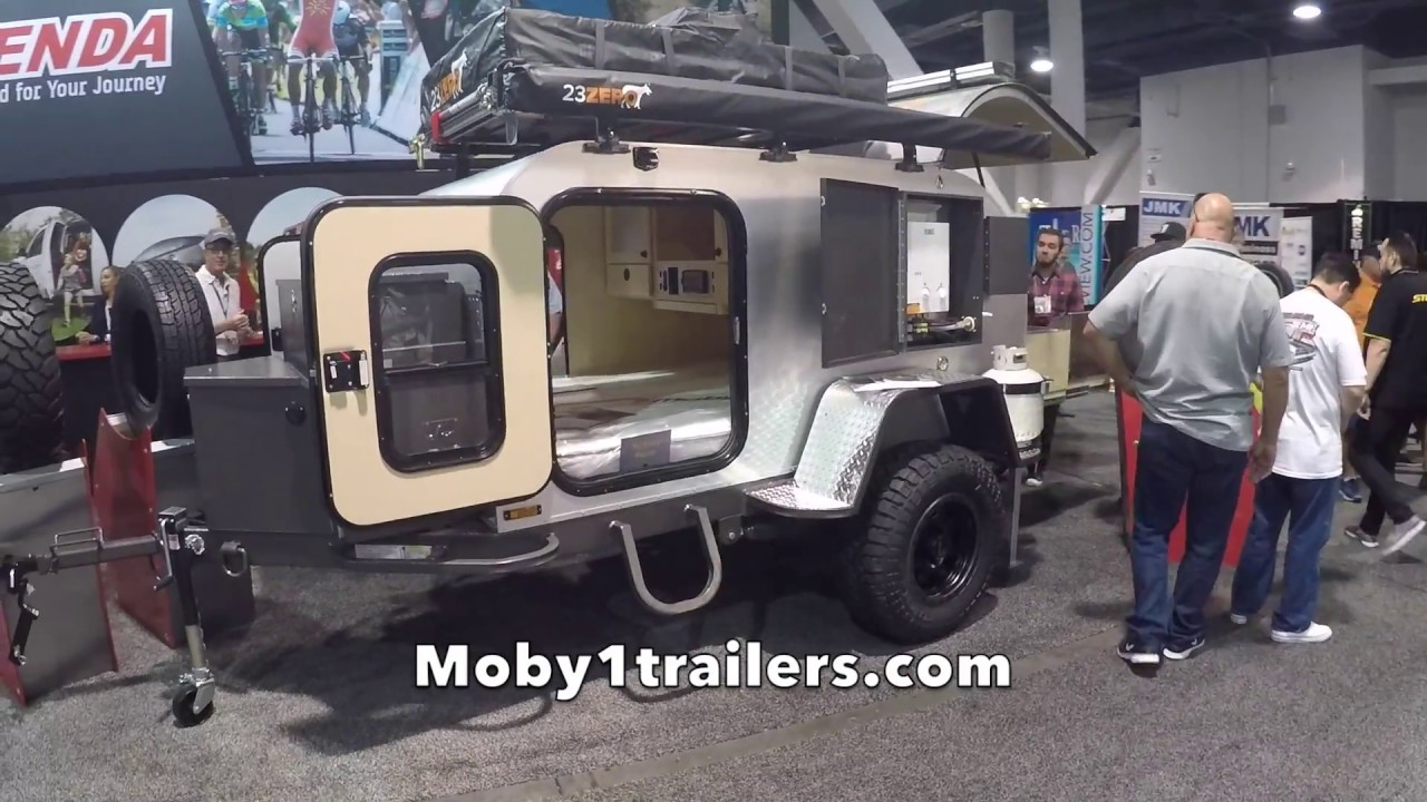 Exceptional Off Road Teardrop Trailer By Moby1trailer At SEMA 2017