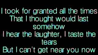 Right here waiting-Oceans apart day after day, And I slowly go insane - YouTube.wmv