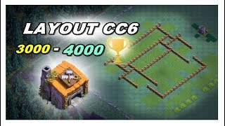LAYOUT CC6 PARA CASA DO CONSTRUTOR (CLASH OF CLANS)