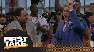 Mike 'The Miz' joins First Take and goes absolutely nuts when debat...