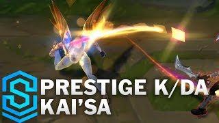Prestige K/DA Kai'Sa Skin Spotlight - League of Legends
