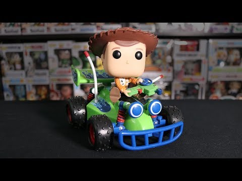 Woody on RC Funko Pop Review!