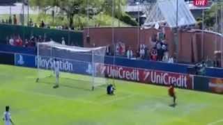 Hildberto Pereira Goal Real Madrid vs Benfica 0-1 11-04-2014