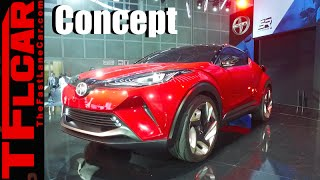 Sexy Scion C-HR Concept Crossover: Everything You Ever Wanted to Know