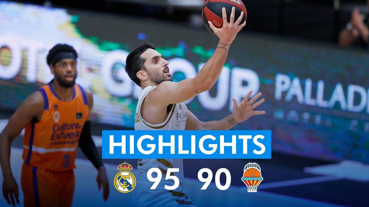 RESUMEN | Real Madrid 95-90 Valencia Basket | J3 Fase Final ACB