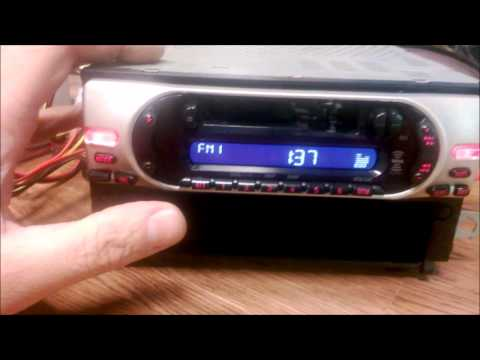 Sony Xplod XR-CA350X Cette Radio Receiver Review and junk yard ... on