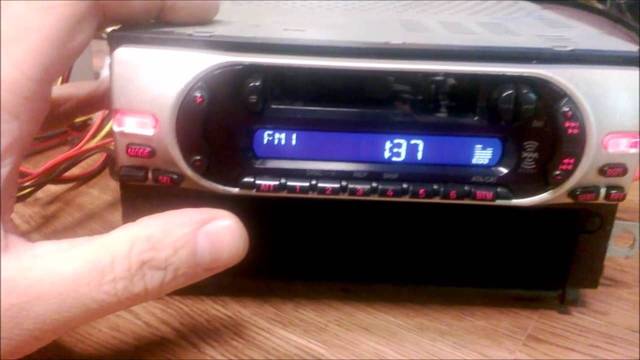 Wspaniały Sony Xplod XR-CA350X Cassette Radio Receiver Review and junk yard JT86