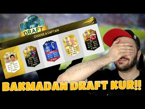 BAKMADAN DRAFT KUR - FIFA 16 DRAFT MODU