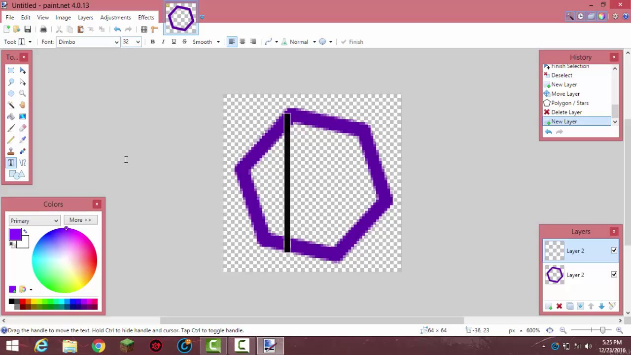 MinecraftHow To Make An Custom Server Icon Using Paintnet - Minecraft server icon erstellen gimp