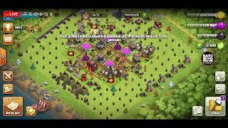 Clash Of Clans Ataques Cv12 Liga Lendária