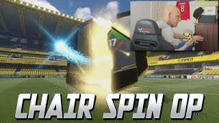 CHAIR SPIN PACK LUCK!! AWESOME WALKOUT - FIFA 17