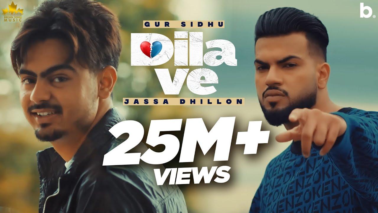 Download Dila Ve (HD Video) Gur Sidhu Ft Jassa Dhillon   New Punjabi Song 2021   Latest Punjabi Songs 2021