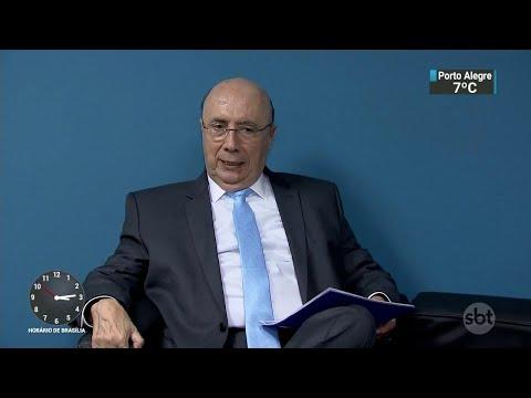 Henrique Meirelles e João Goulart Filho participam de sabatinas | SBT Notícias (28/08/18)