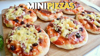 MINI PIZZAS?! WITHOUT OVEN | ON A BUDGET CHEESY HAWAIIAN PIZZA | Precy Meteor