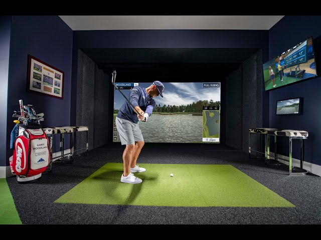 Gary Woodland's Full Swing Simulator & Virtual Green