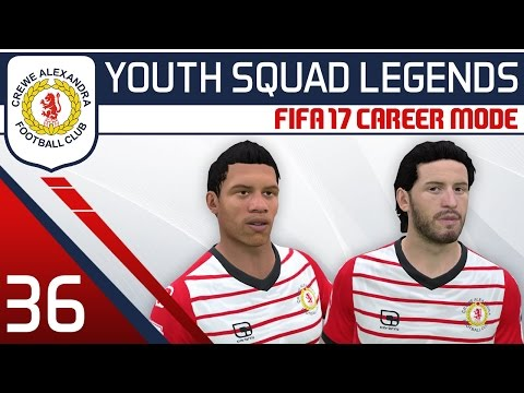 Video: FIFA 17 Career Mode: Crewe #36 - League One! [YOUTH SQUAD LEGENDS | Youth Academy Career ...