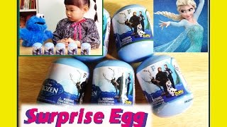 겨울왕국 서프라이즈 에그 장난감 놀이 Disney Frozen Elsa Toys Surprise Egg 라임튜브