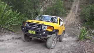 FJ Cruisers off-road - Killingworth Loop - March-2016 - Part 1