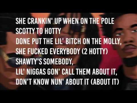 Migos Too Hotty Lyrics