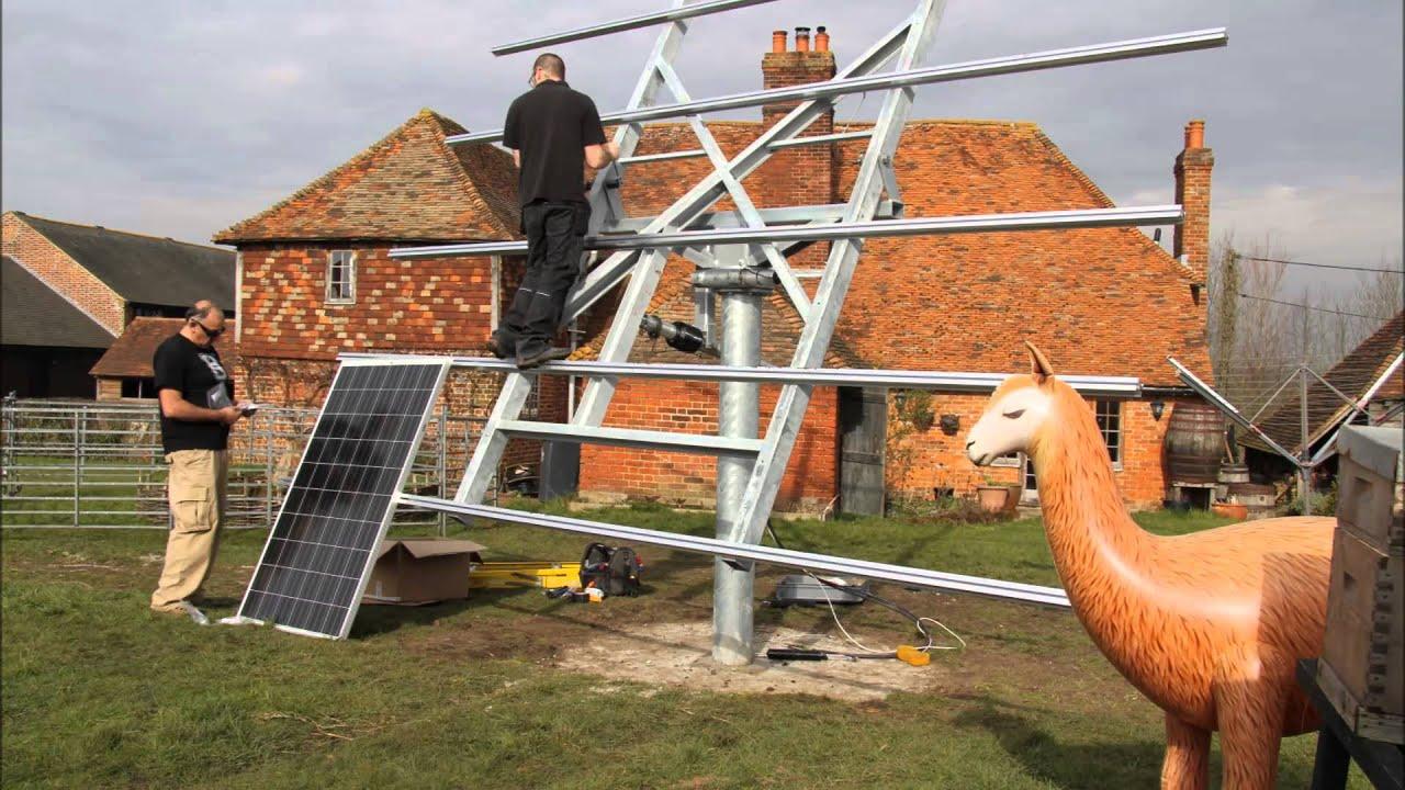 Deger Solar Tracker Installation By Greenman Solar Kent