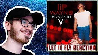 Lil Wayne Let It Fly (feat. Travis Scott) - REACTION/REVIEW